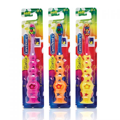 Kids Toothbrush Starlight with Flashing Timer-Caredent