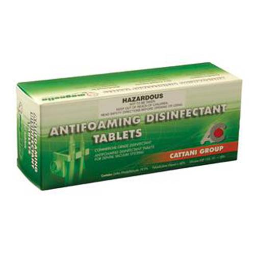 Antifoaming Disinfectant Tablets - Cattani