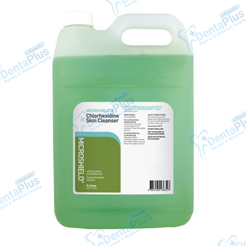 2% Chlorhexidine Skin Cleanser (5L Bottle) - Microshield