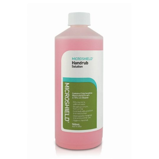Microshield Handrub Solution - 500ml/btl