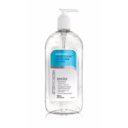 Microshield Clear Angel Antimicrobial Hand Gel