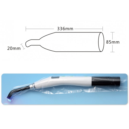Curing Light Protection Sleeves - 500/pkt (336mm x 85mm)