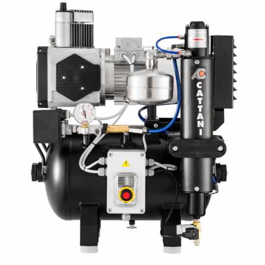 Cattani AC 100 - Single Cylinder With Pre Filter For Humid Conditions